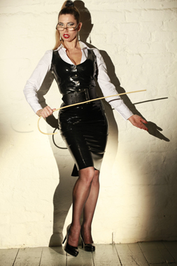 over the knee spanking Dominatrix London
