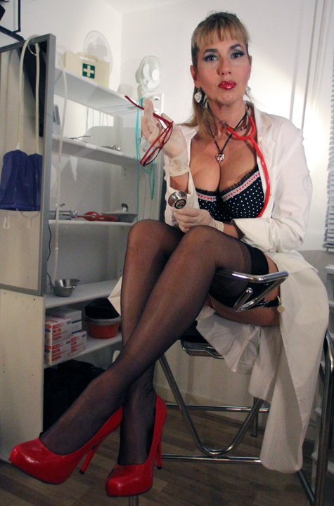 Apologise, mistresses giving men enemas talented