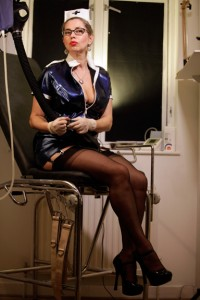 Strict-nurse-enema-medical-mistress